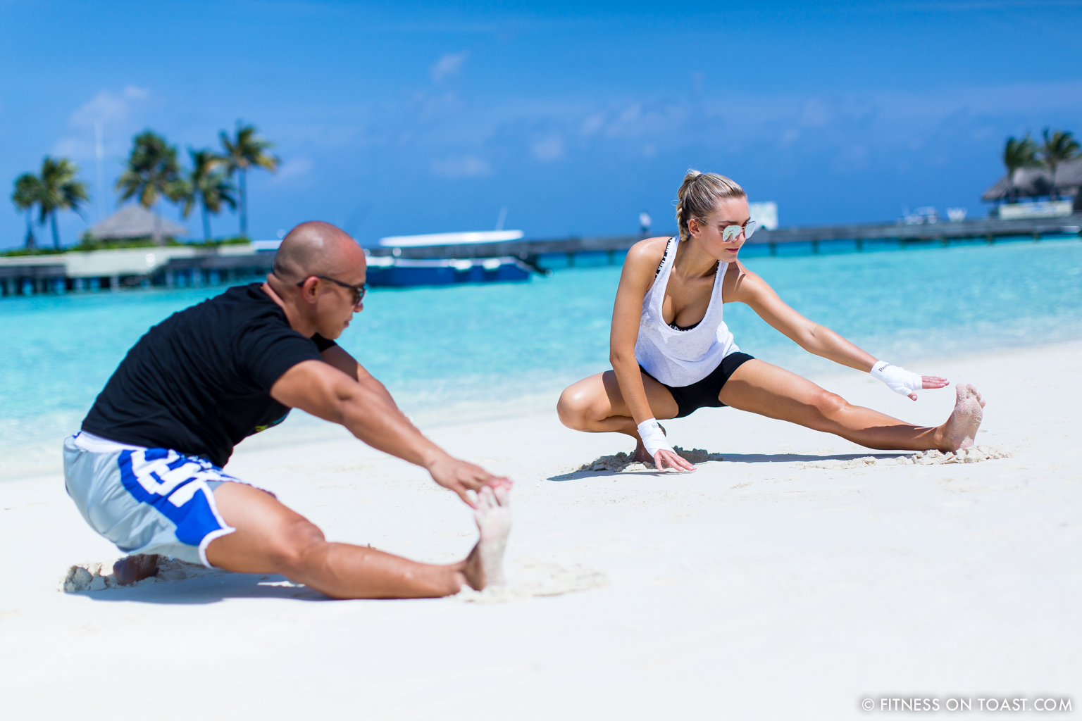 Fitness On Toast Faya Blog Girl healthy Importance Benefits of Muay Thai Martial Arts Health Active Workouts Fit Luxury W Maldives Travel-5