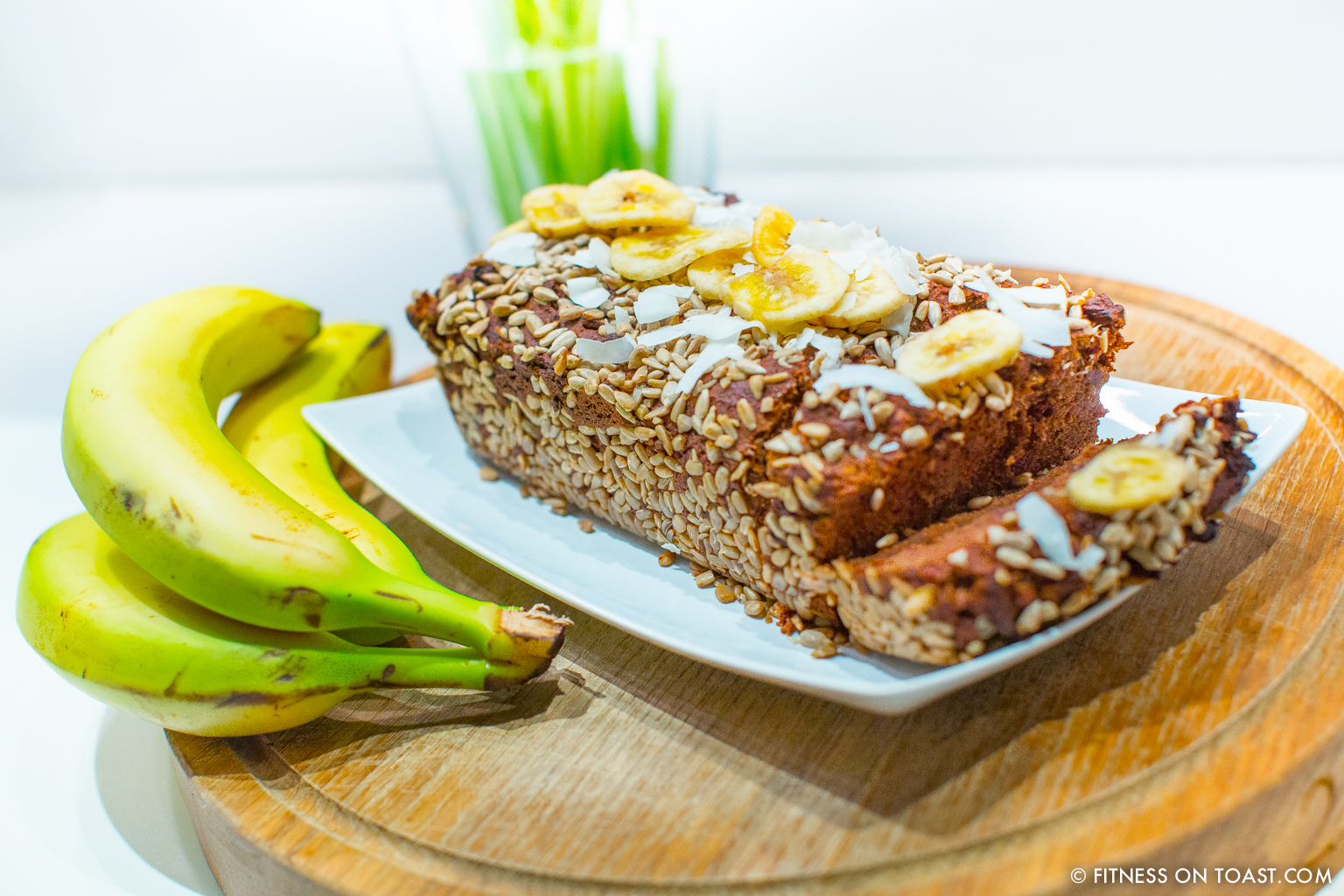 Fitness On Toast Faya Blog Girl Healthy Workout Recipe Food Idea Diet Nutrition Banana Bread Cake Healthier Lighter Recipes Recipe-4