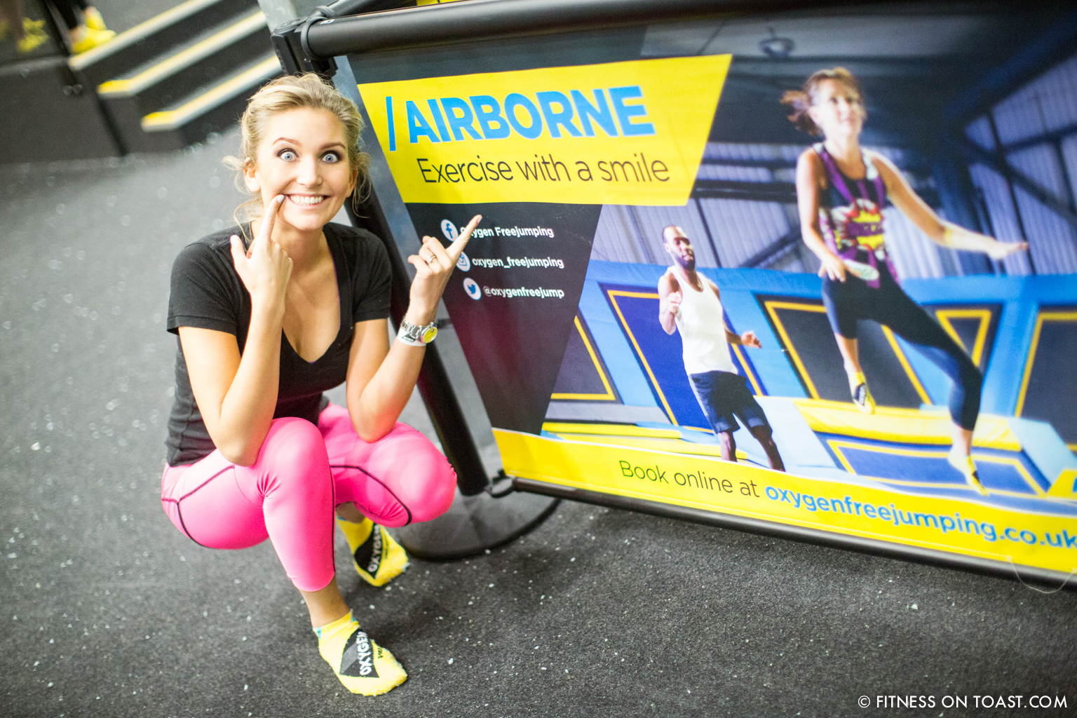 Fitness On Toast Faya Blog Girl Healthy Workout Trampolining Trampoline Fit Shock Absorber Support Bounce Health Idea-7