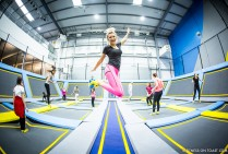 Fitness On Toast Faya Blog Girl Healthy Workout Trampolining Trampoline Fit Shock Absorber Support Bounce Health Idea