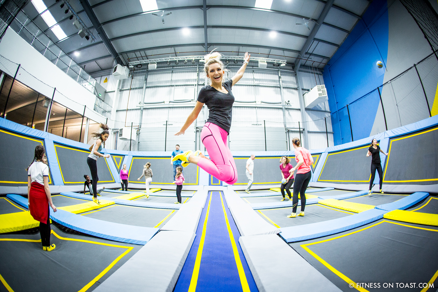 6 benefits of trampolining fitness on toast. Black Bedroom Furniture Sets. Home Design Ideas
