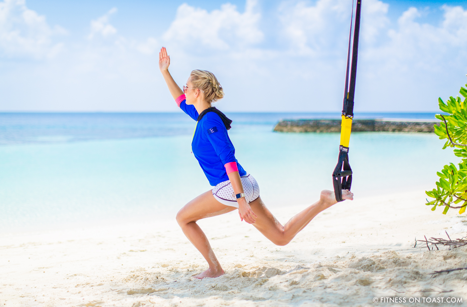 Fitness On Toast Faya Blog Girl Healthy Workout Exercise Fit Healthy Training TRX Maldives W Hotels Resorts Starwood Active Escape-11