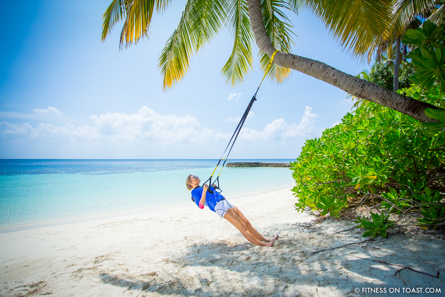 Fitness On Toast Faya Blog Girl Healthy Workout Exercise Fit Healthy Training TRX Maldives W Hotels Resorts Starwood Active Escape-3