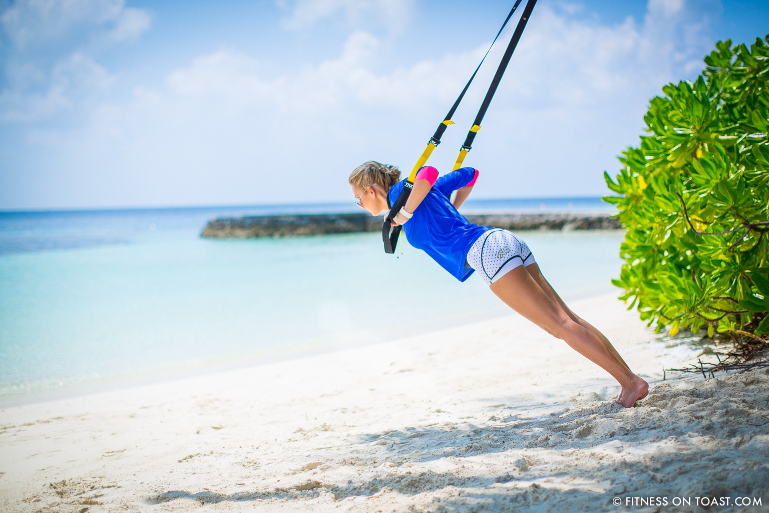 Fitness On Toast Faya Blog Girl Healthy Workout Exercise Fit Healthy Training TRX Maldives W Hotels Resorts Starwood Active Escape-6