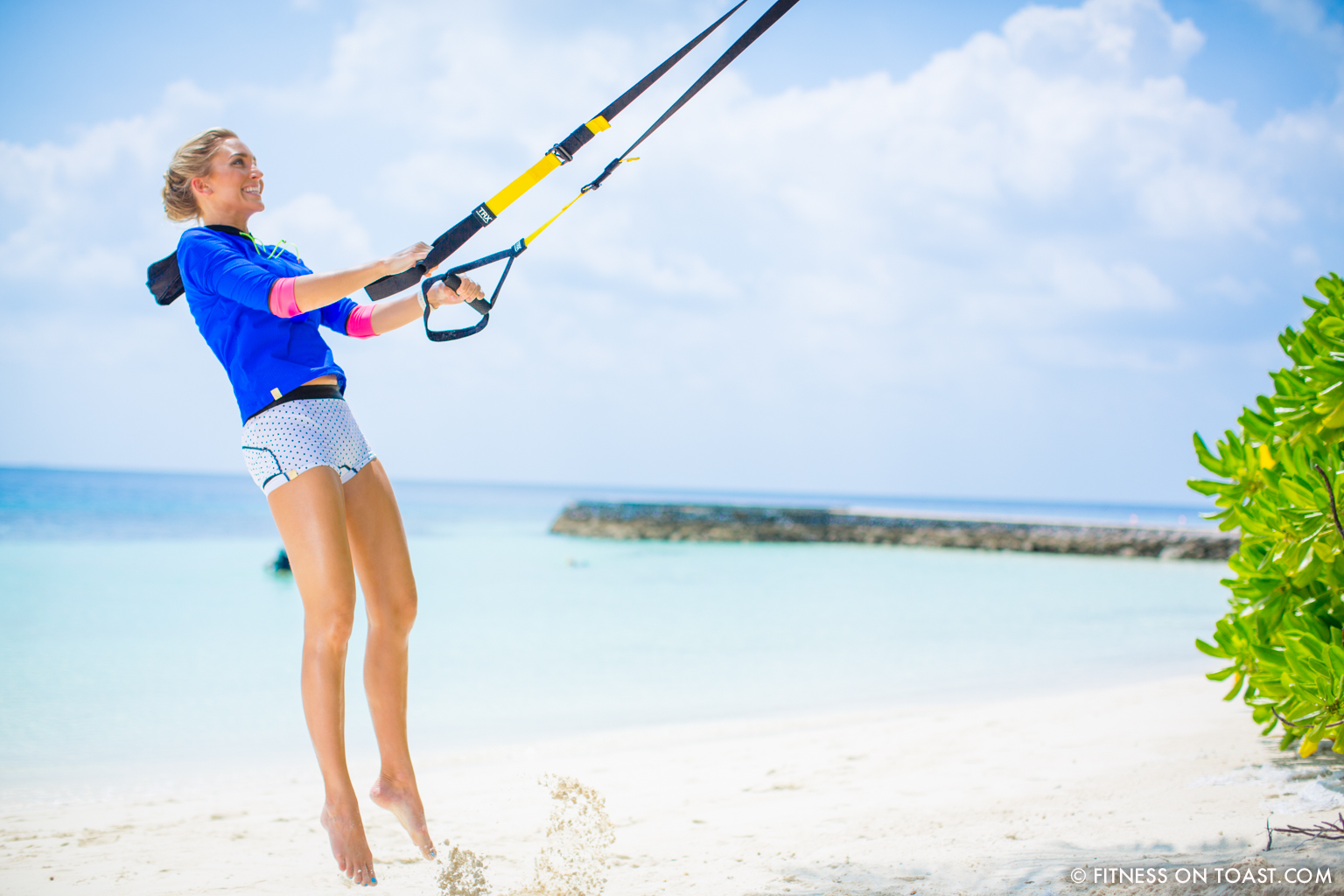 Fitness On Toast Faya Blog Girl Healthy Workout Exercise Fit Healthy Training TRX Maldives W Hotels Resorts Starwood Active Escape-7