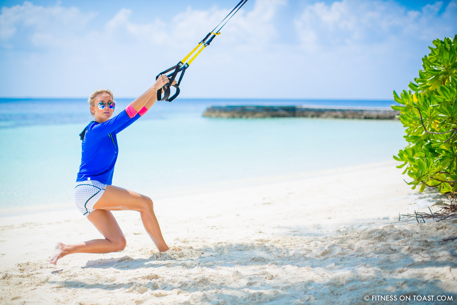 Fitness On Toast Faya Blog Girl Healthy Workout Exercise Fit Healthy Training TRX Maldives W Hotels Resorts Starwood Active Escape-8