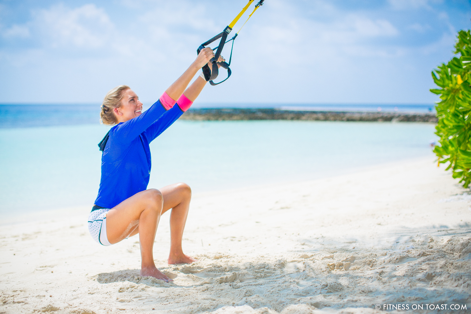 Fitness On Toast Faya Blog Girl Healthy Workout Exercise Fit Healthy Training TRX Maldives W Hotels Resorts Starwood Active Escape-9