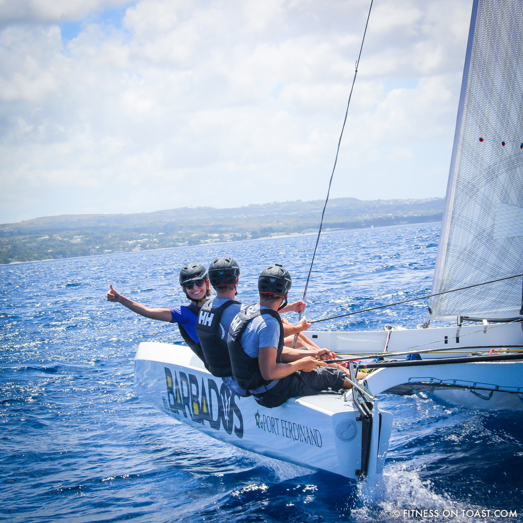 Fitness On Toast Faya Helly Hansen Sailing Demands Athlete Professional Team Concise Barbados Championship Level-4