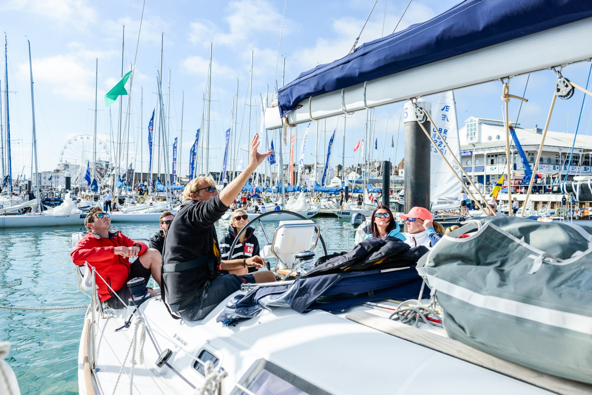 Fitness On Toast Helly Hansen Cowes Week Sailing Blogger Bronze Medal-6