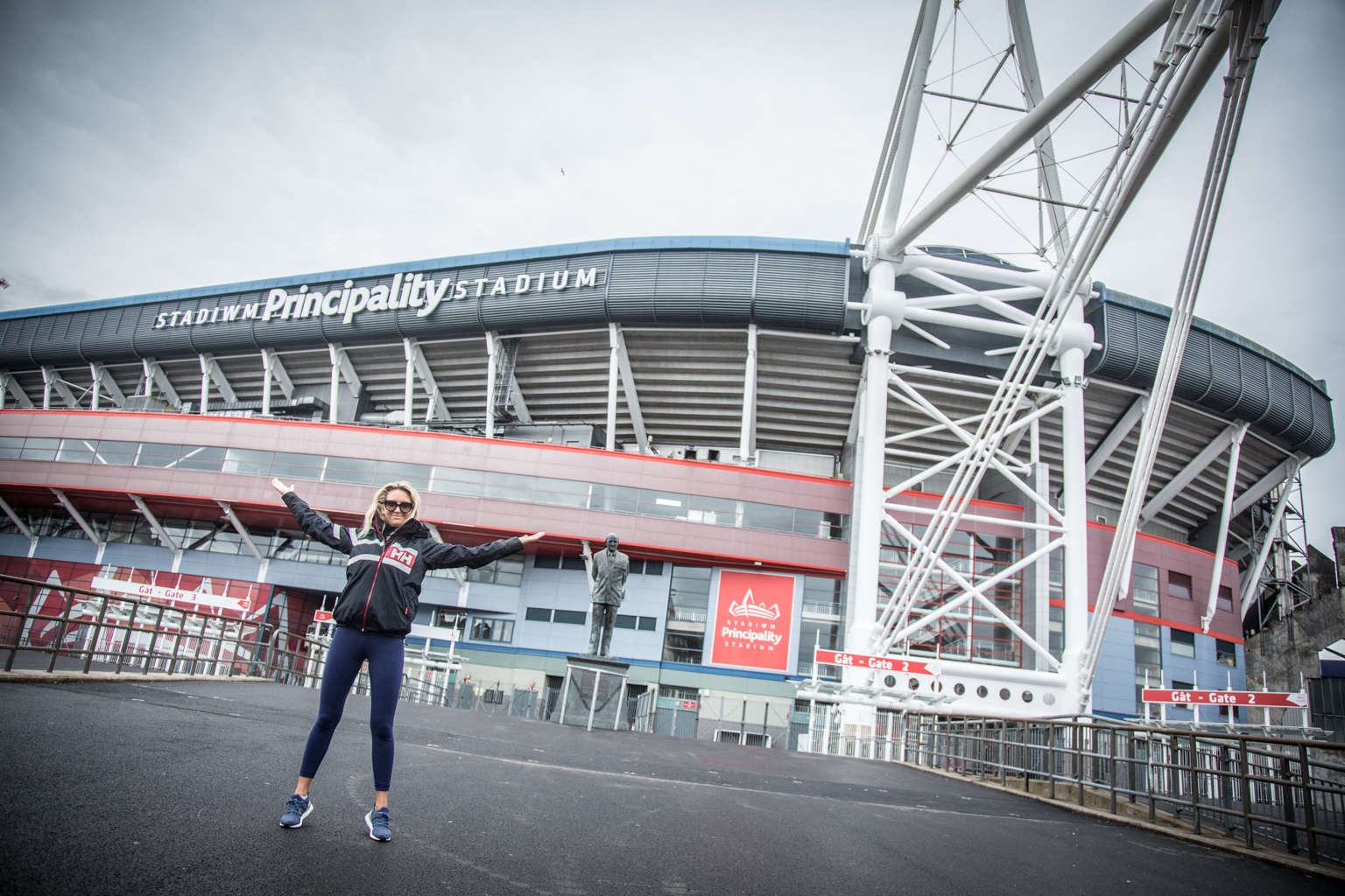 Fitness On Toast Faya Blog Health Training Workout Active Travel Escape City Break Wales Cardiff Millennium Principality Stadium Football UEFA Final June Rugby-14
