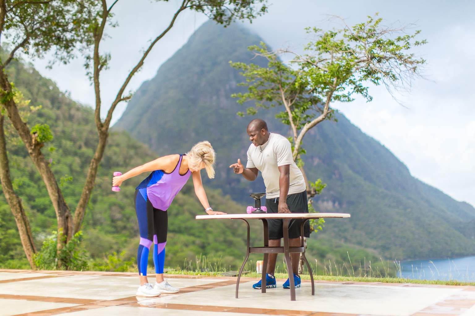 Fitness On Toast Faya Blog Girl Healthy Workout Viceroy Sugar Beach St Lucia Caribbean Hotel Holiday Luxury Resort Sun Travel-11