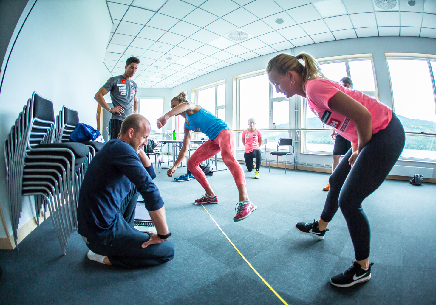 Fitness On Toast - Ski Team Sweden - Kickoff Training Session Pre Season 2017-8-12