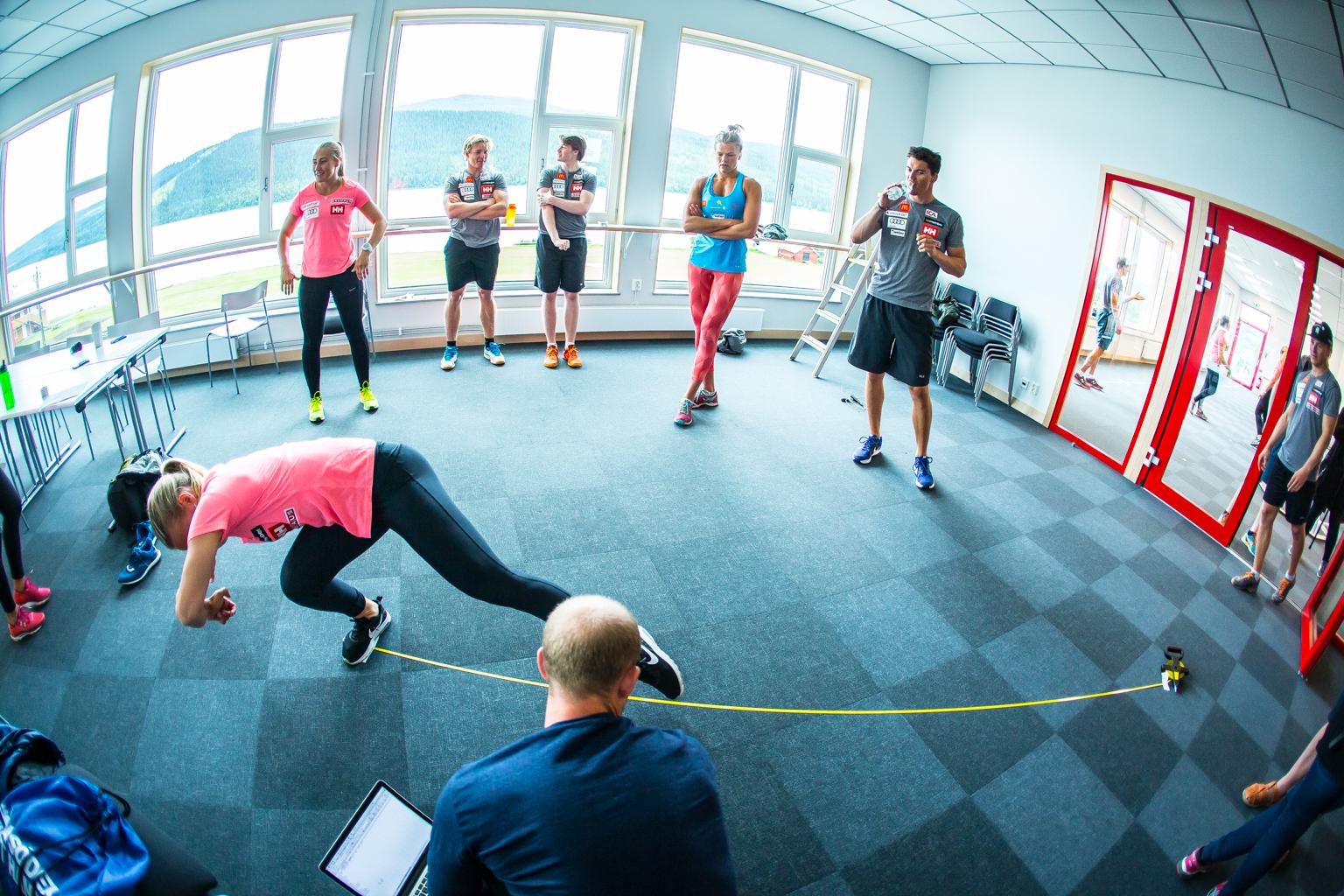 Fitness On Toast - Ski Team Sweden - Kickoff Training Session Pre Season 2017-8-13