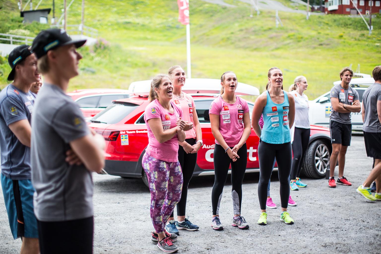 Fitness On Toast - Ski Team Sweden - Kickoff Training Session Pre Season 2017-8-17