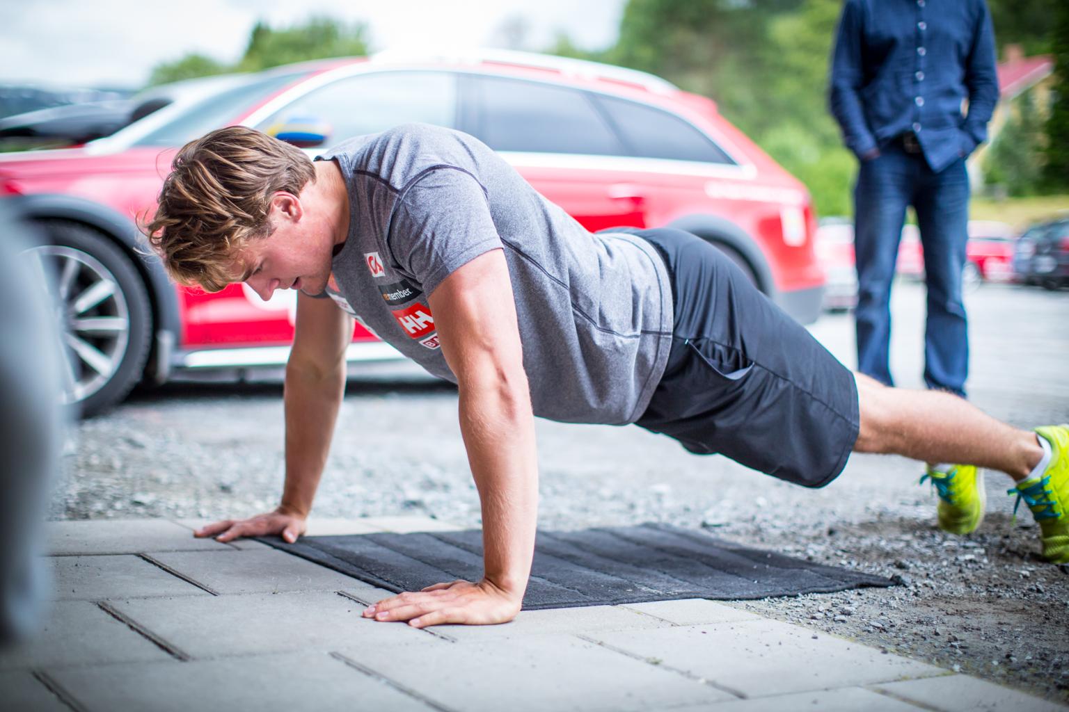 Fitness On Toast - Ski Team Sweden - Kickoff Training Session Pre Season 2017-8-26