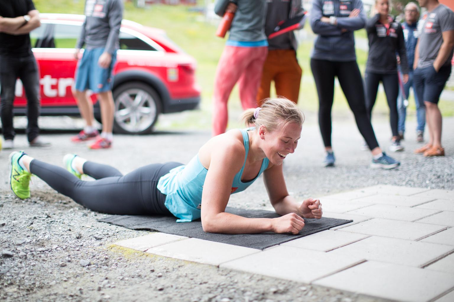 Fitness On Toast - Ski Team Sweden - Kickoff Training Session Pre Season 2017-8-27