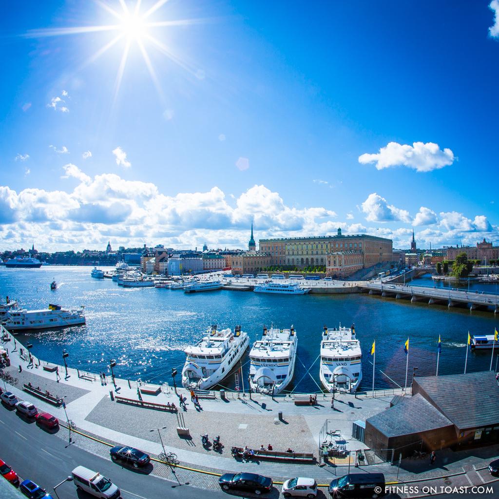Fitness On Toast - Stockholm