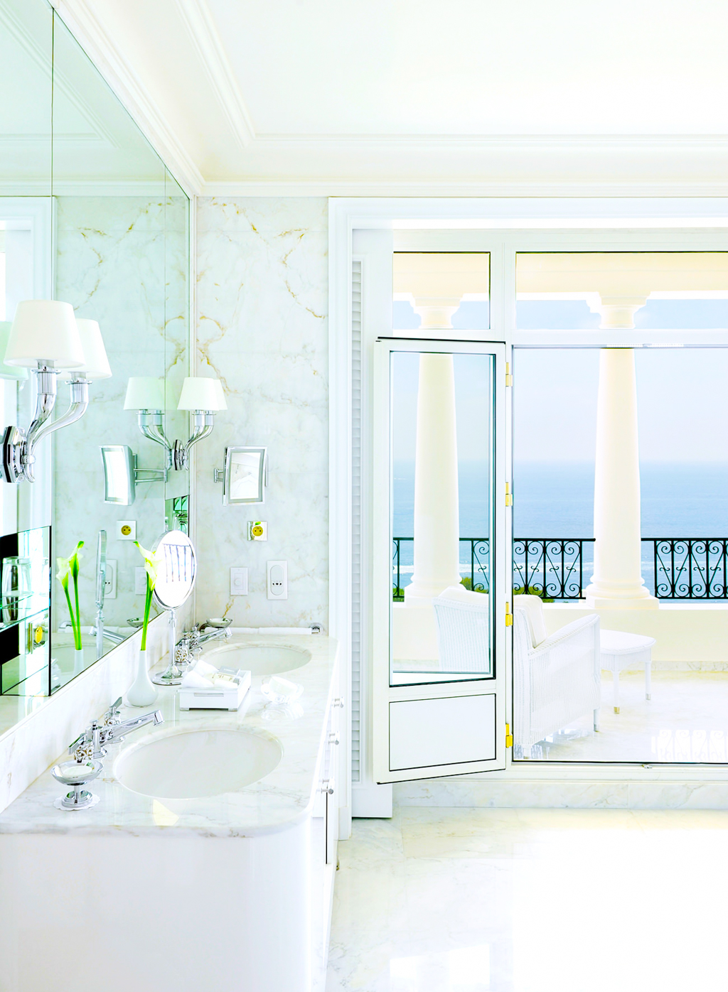 Bathroom in Suite #306, Le Grand-Hotel du Cap-Ferrat, France Jun