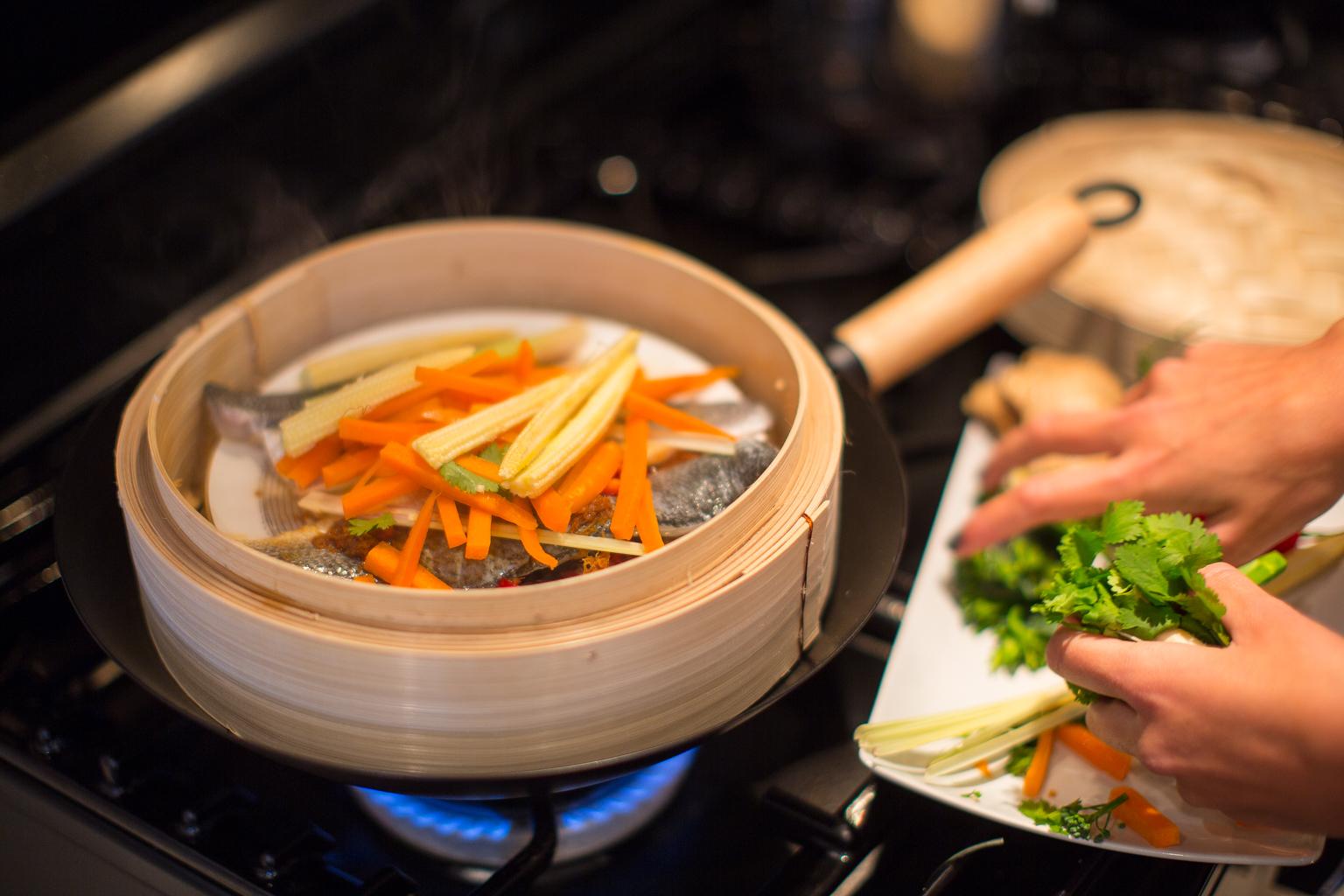 Fitness On Toast Faya Blog Girl Healthy Recipe Inspiratino Fish Steamed Seabass Ginger Carrot Wok Basket Bamboo Steam Diet Light-4