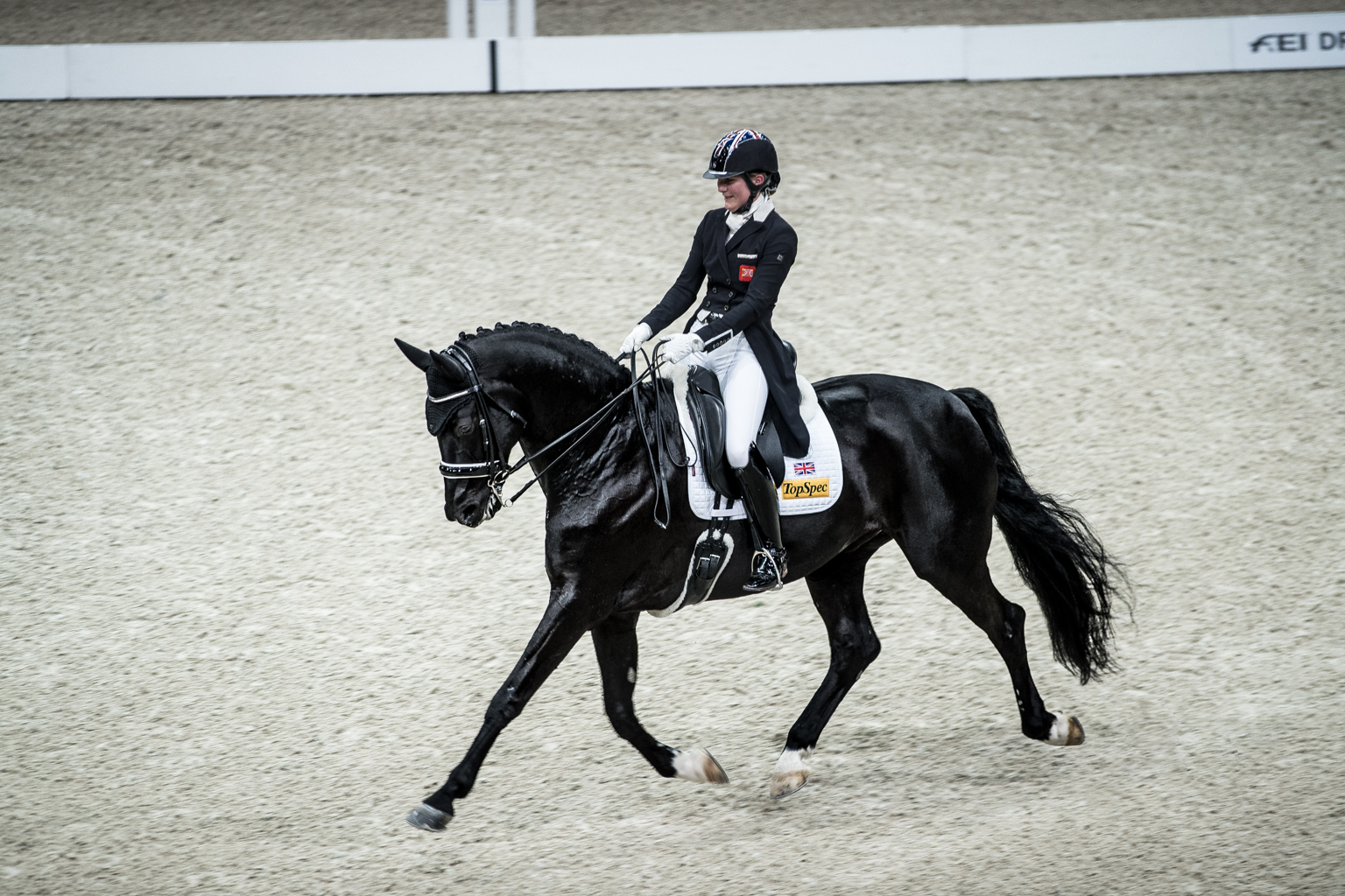 Fitness On Toast - FEI Dressage World Cup Finals Paris April 2018 France-25