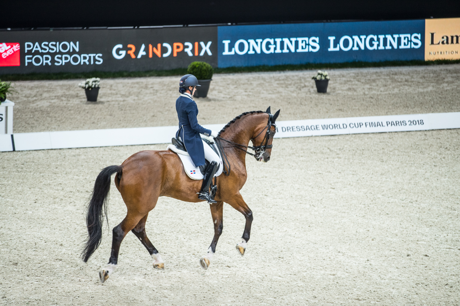 Fitness On Toast - FEI Dressage World Cup Finals Paris April 2018 France-26