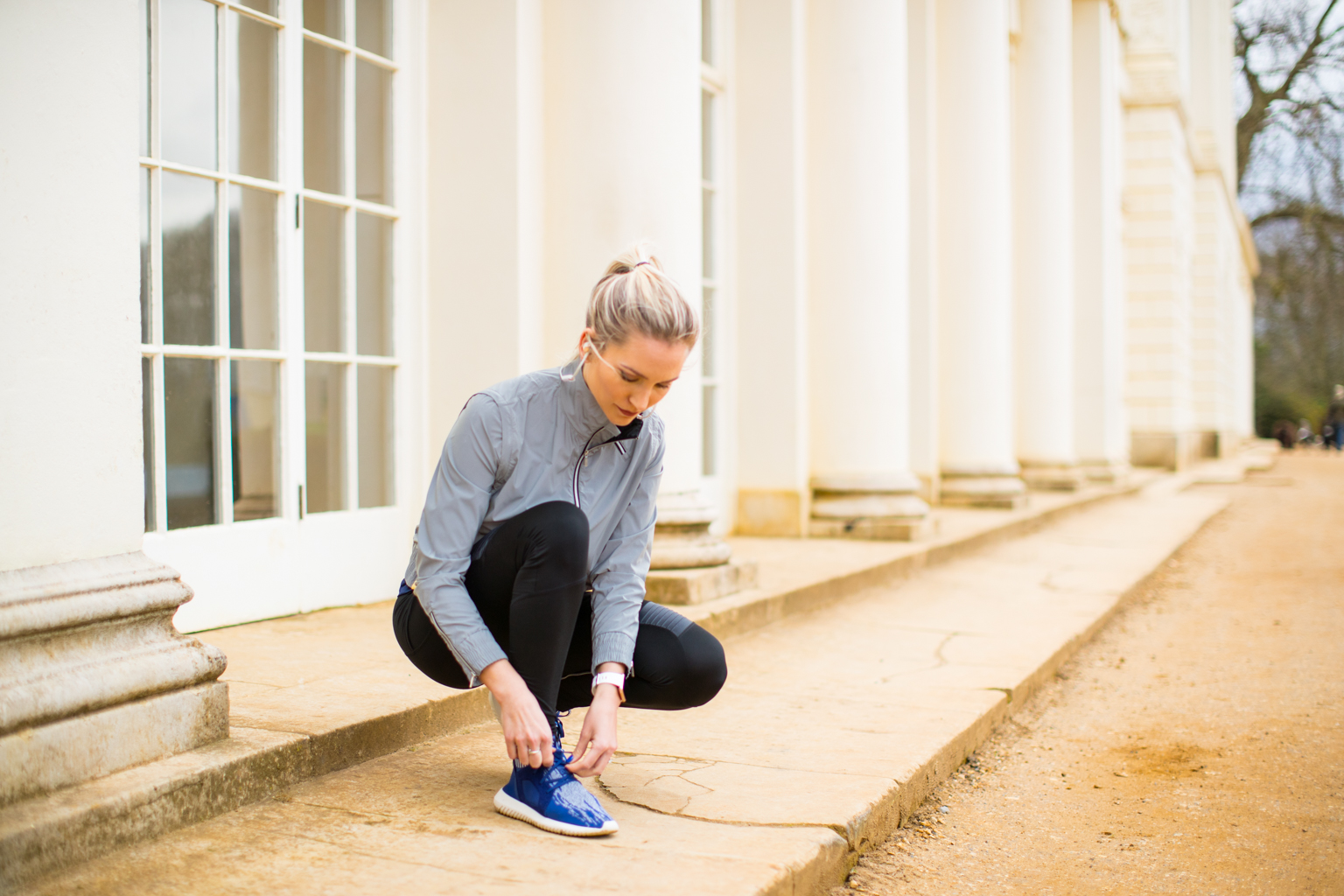 Fitness On Toast Faya Blog Girl Healthy Workout Training Fitbit Versa Hampstead Heath Kenwood House Fields Run-5