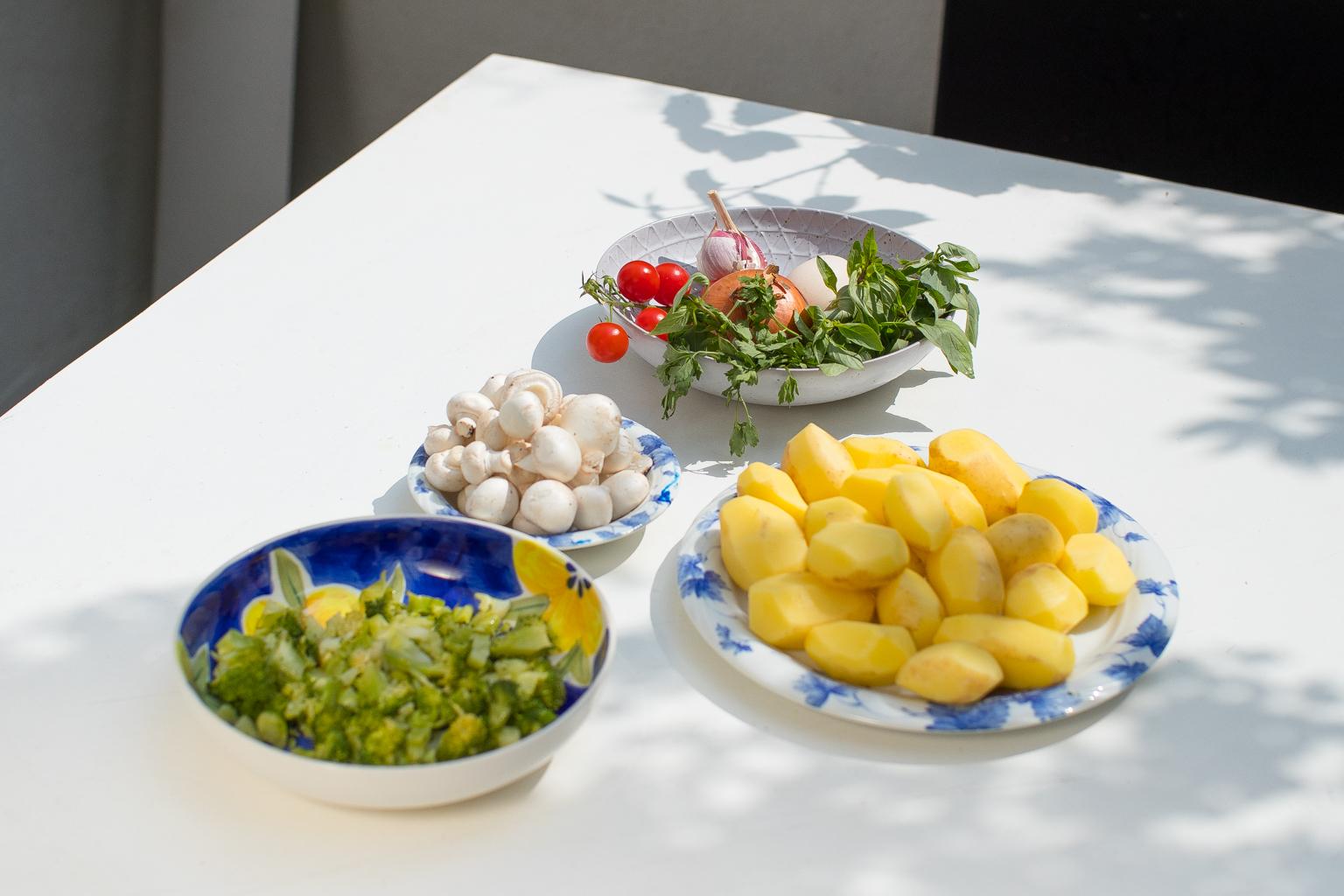 Fitness On Toast Potato Frittata Healthy Easy Breakfast Idea-7