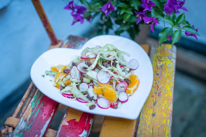 Fitness On Toast Faya Blog Healthy Recipe Girl Diet Lighter Choices Summer Salad Fennel Citrus_-2