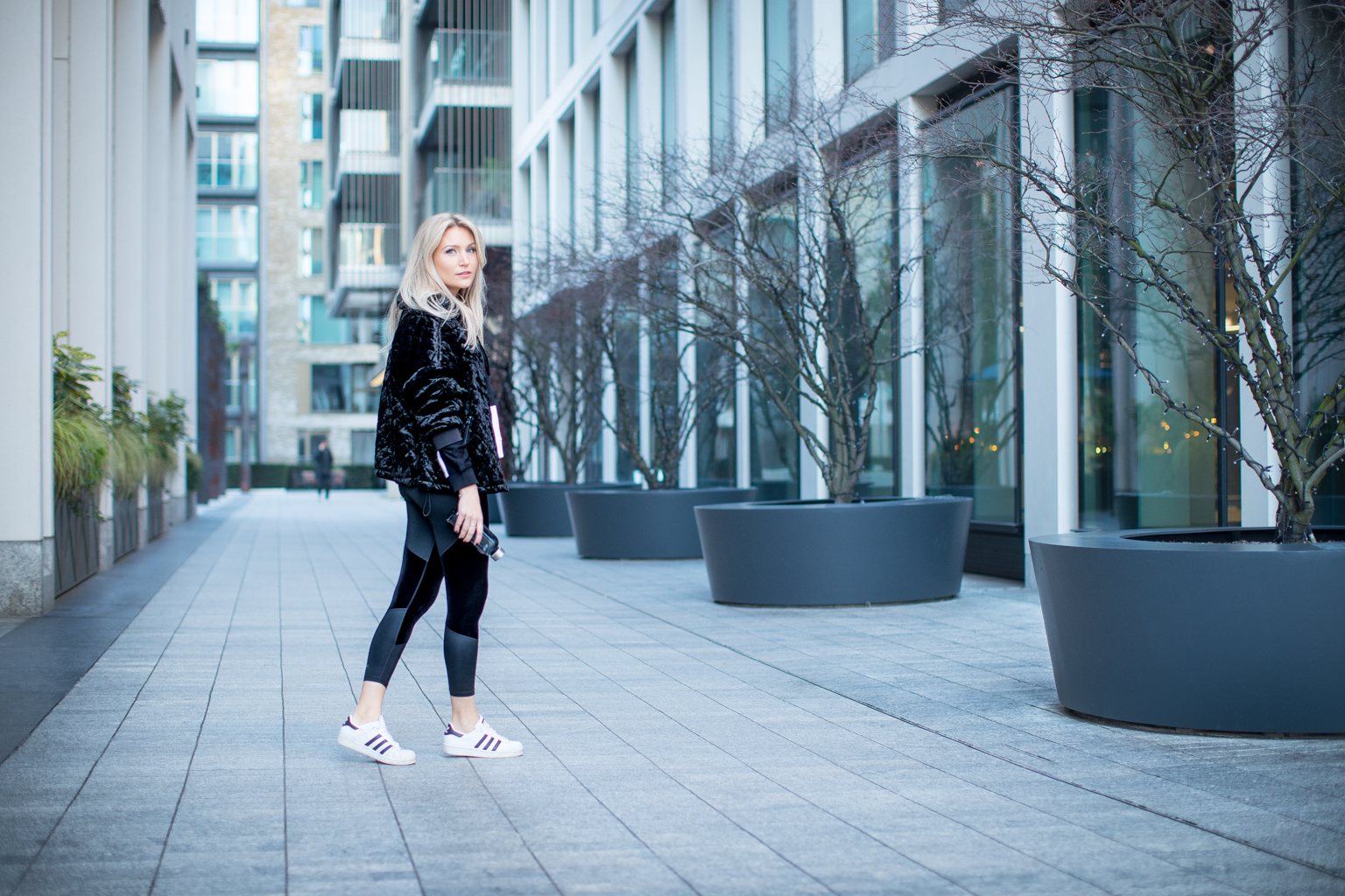 Fitness On Toast Faya Blog Girl Healthy Workout Fashion DKNY Sport London England West End Photoshoot OOTD Luxe Sport Lux Look-11