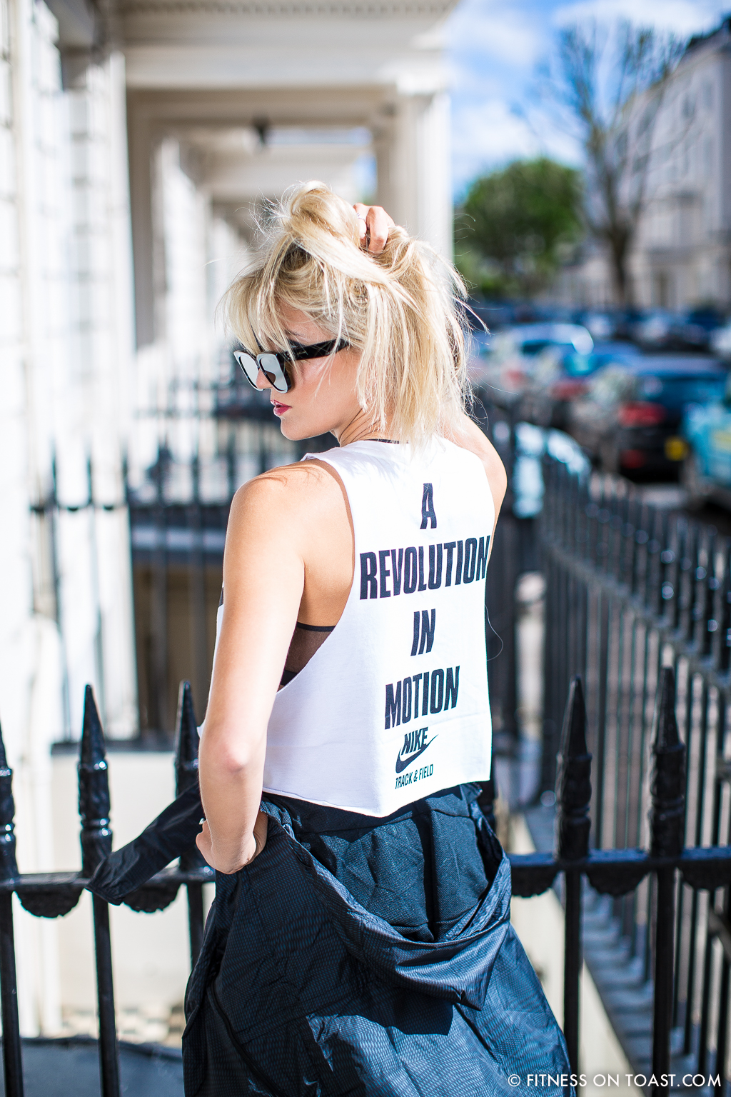 Fitness On Toast Faya Blog Girl London Urban Outfitters Fashion Nike Post OOTD Workout Uniform Outfit Clothes-11